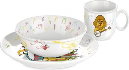 Набор посуды Музыканты, 3 предмета Tescoma Bambini 667960.00