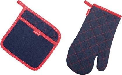 Кухонная рукавица и прихватка, для нее PRESTO DENIM Tescoma 639796