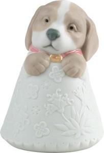 Статуэтка фарфоровая Щенок розовый (Little Puppy) 9см NAO 02005080