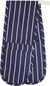 Прихватка двойная KitchenCraft Blue Butcher'S Stripe KCBSDBOGBLU