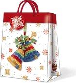 """Пакет подарочный """"Волшебный звон"""", кант красный, 20x25х10см Paw AGB016903"""