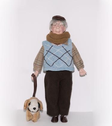 Кукла фарфоровая Top Art Studio Шарль 41см WS2250-TA