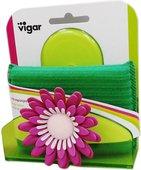 Губка с подставкой на присоске Vigar Flower Power 3486