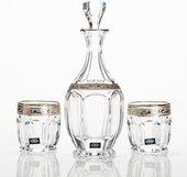 Набор для виски Сафари графин 800мл + 2ст 250мл Crystalite Bohemia 99999/9/378500/067