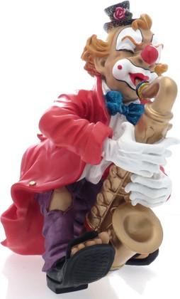 "Статуэтка ""Клоун Саксофонист"", 19 см Widdop Bingham WS1038-TA"