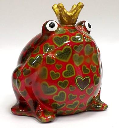 Копилка Pomme-Pidou Царевна лягушка Freddy розовая 148-00003/2