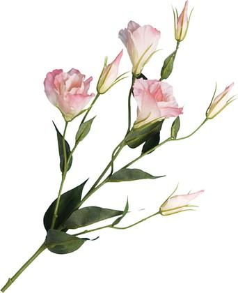 """Floralsilk Искусственные цветы """"Лизиантус розовый"""", 76х24см, артикул BB21305P-PI"""