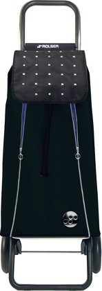 Сумка-тележка Rolser Rock, 2 колеса, чёрная IMX013Negro-Azul