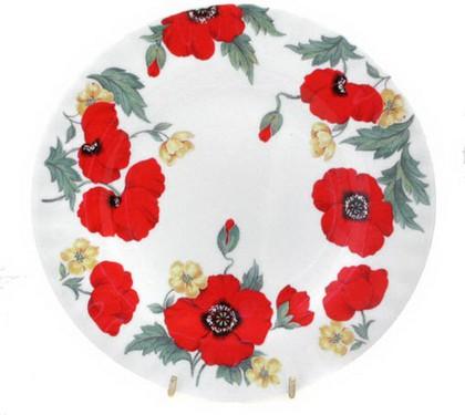 Тарелка десертная Маки 21см Roy Kirkham XMON1270
