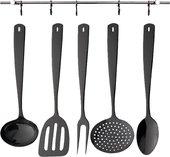 Набор кухонный Herdmar Perugia Black, 5 предметов, чёрный 140800501170700001