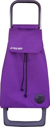 Сумка-тележка хозяйственная фиолетовая ROLSER Joy-1800 BAB012more