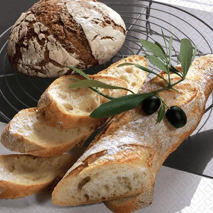 Салфетки для декупажа Свежий хлеб, 33x33см, 3 слоя, 20шт Paper+Design LN0665