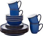 Сервиз чайно-столовый Denby Императорский Синий, 16 предметов 001040969