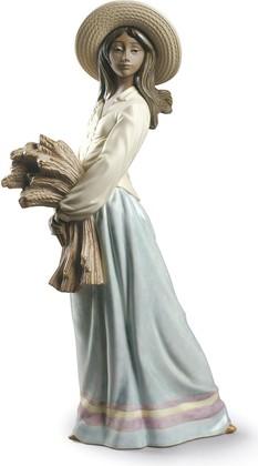 Женщина с пшеницей (Woman with Wheat) NAO 02012025