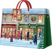 """Пакет подарочный """"Зимние витражи"""" 33.5x26.5x13см Paw AGB016006"""