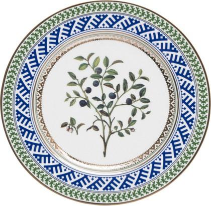Тарелка декоративная Черника, ф. Европейская-2 ИФЗ 80.85948.00.1