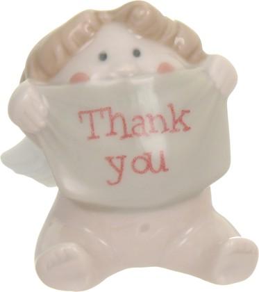 Статуэтка фарфоровая NAO Благодарящий Ангелочек (A Big Thank You) 6.5см 02005066