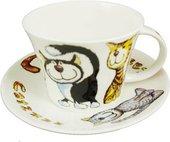 Чайная пара Roy Kirkham Кошки-с, 500мл XCATZ1110