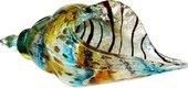 Фигурка стеклянная Top Art Studio Раковина цветная 26x13см ZB2424-TA