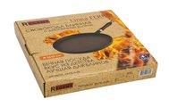 Сковорода блинная с деревянной ручкой D=26x2см Linea Ferro Regent Inox 93-FE-5-26