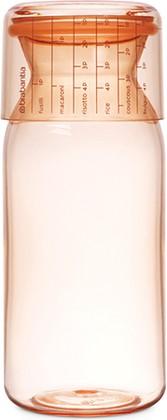 Пластиковая банка с мерным стаканом 1,3л, розовый Brabantia 290206