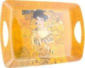Поднос большой Климт Золотая Адель 45см The Leonardo Collection LP92693