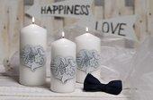 Свеча декоративная Bartek Candles Счастье колонна 70х150 5901685040402