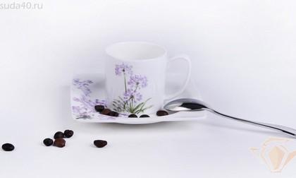 Набор кофейный Флорида, 6 персон, 12 пр. Top Art Studio LD1179-TA