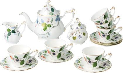 Чайный сервиз Монпелье 6/15 Top Art Studio CH2298-TA