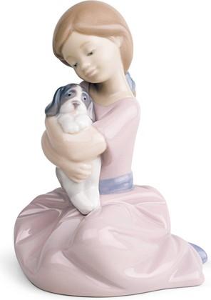 Статуэтка фарфоровая NAO Мой любимый пёсик (My Puppy Love) 13см 02001451