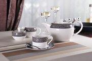 Чайный сервиз Айвенго, 6 персон, 15пр. Top Art Studio LD1359-TA