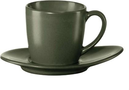 Чашка с блюдцем для эспрессо Asa Selection Cuba Verde 60мл, зелёный 1231/442