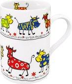 Кружка Koenitz Парад коров, 310мл 11 1 003 0213