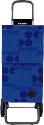 Сумка-тележка Rolser Logos Paris, 2 колеса, синяя PAR014azul