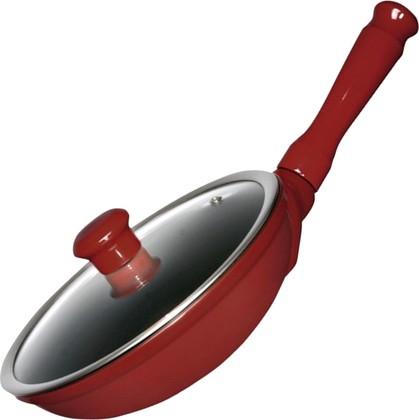 Ceraflame DUO Сковорода со стеклянной крышкой, диаметр 22см, 1л, красная, артикул F28116422