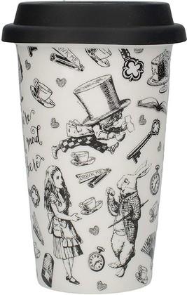 Дорожная кружка Creative Tops V&A Alice In Wonderland с силиконовой крышкой, 350мл 5213454