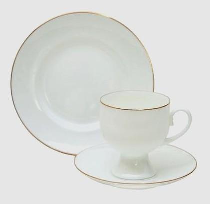 Набор кофейный 3 пр. Золотая лента, ф. Классическая-2 ИФЗ 81.20904.00.1
