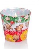 Свеча декоративная Bartek Candles Рождественские Вкусы, стакан 5901685031097