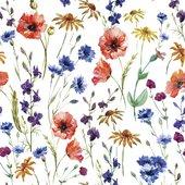 Салфетки для декупажа Полевые цветы 33x33, 3-сл, 20шт Paw TL567000