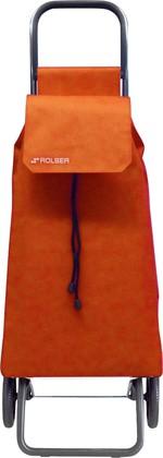 Сумка-тележка хозяйственная оранжевая Rolser RG SAQUET SAQ002mandarina