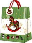 """Пакет подарочный """"Лошадка"""", 26.3x33x13.5см Paw AGB017305"""