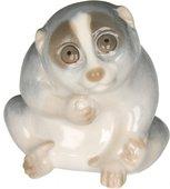 Скульптура ИФЗ Лори Серый, фарфор 82.91430.00.1