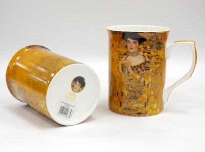 Набор кружек Lesser & Pavey Импрессионисты Климт, Золотая Адель, 2шт 300мл LP92685