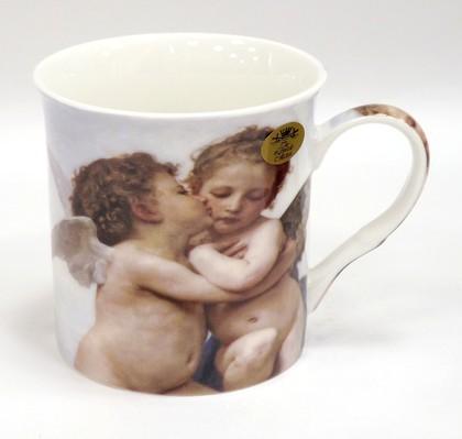 Кружка Импрессионисты Бугро. Первый поцелуй 300мл The Leonardo Collection LP92491