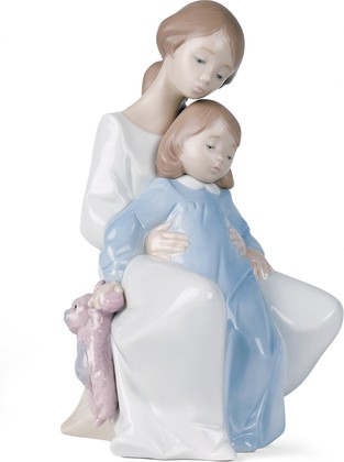 Статуэтка фарфоровая Вместе с мамой (A Moment With Mommy) 22см NAO 02001429