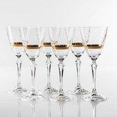 Бокалы для вина Crystalite Bohemia Элизабет, 6шт, 250мл 40760/250/Q9218