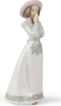 Статуэтка фарфоровая Время молитвы девочка (Please Please) 21см NAO 02001224
