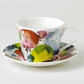 Чайная пара Roy Kirkham Лаура Планеты, 450мл XPLA1114