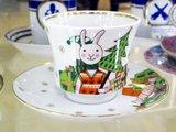 Чашка с блюдцем С Новым годом, ф. Банкетная ИФЗ 81.20204.00.1