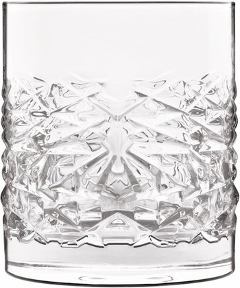 Стаканы для виски Luigi Bormioli Textures Elixir, 4шт, 380мл 12346/02-nn4